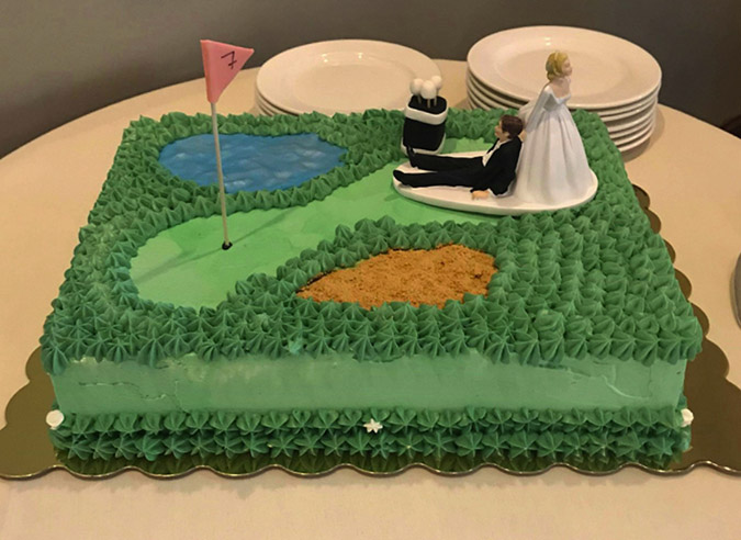 groom's cake for wedding